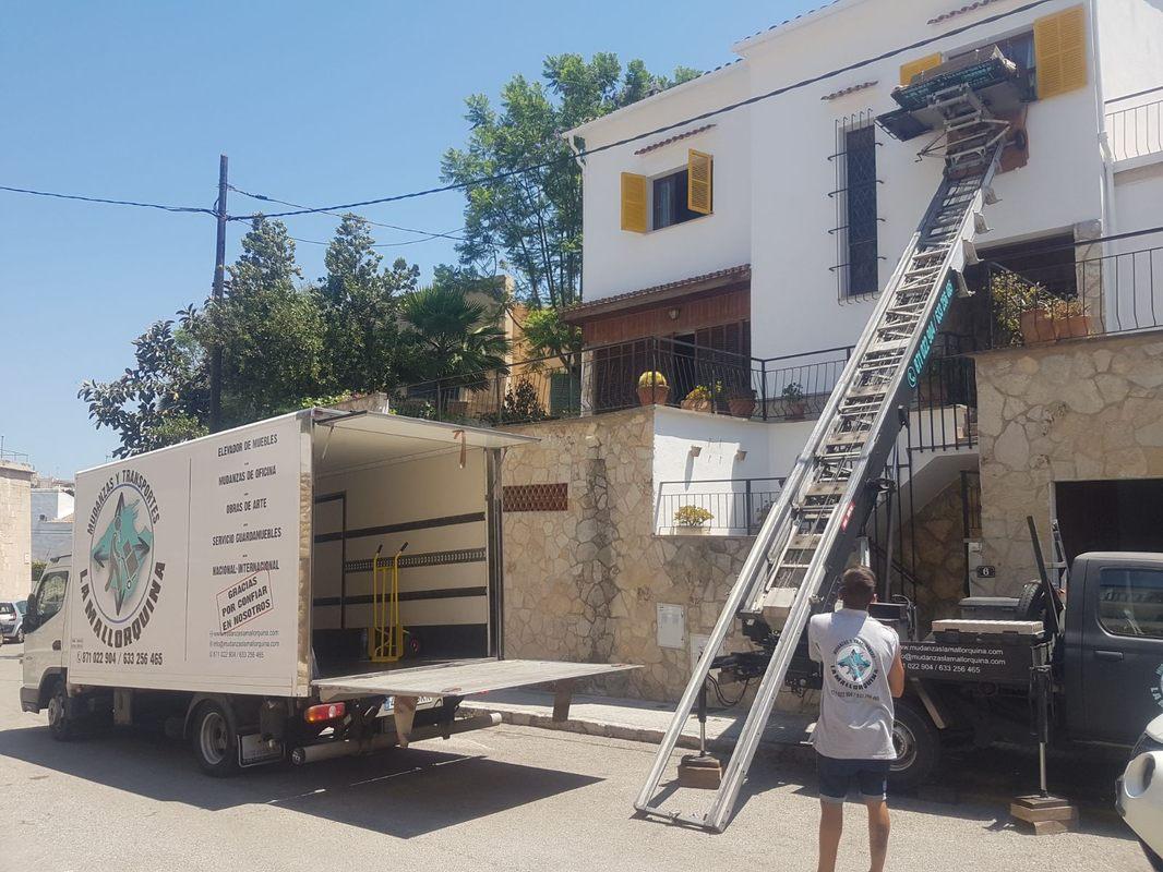 servicios la mallorquina mudanzas y transportes mallorca